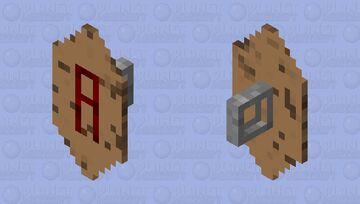 A Shield Minecraft Mob Skin