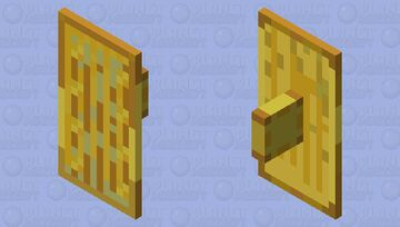 Golden Shield Minecraft Mob Skin