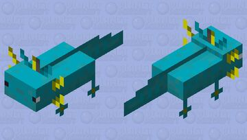 custom axolotl skin Minecraft Mob Skin