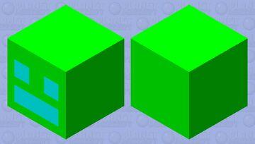 Geometry Dash Minecraft Mob Skin