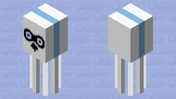 blooper (sms) Minecraft Mob Skin