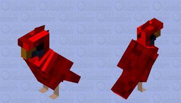 Northern Cardinal Minecraft Mob Skin