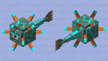 Diamond Guardian Minecraft Mob Skin