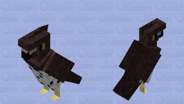 Martial Eagle Minecraft Mob Skin