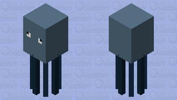 Simplistic Squid Minecraft Mob Skin