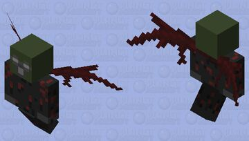 Demon Vex Minecraft Mob Skin
