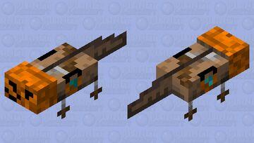 Trick Or Treat Axolotl Minecraft Mob Skin