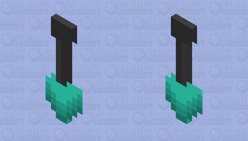 Diamond Shovel Cape by Blade_51 Minecraft Mob Skin