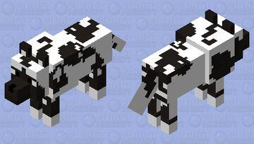 African Wild Dog 3 Minecraft Mob Skin