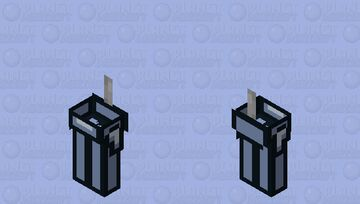 Among us white / zombie / low resolution / remade Minecraft Mob Skin