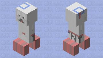 Mini-Puft - Ghostbusters Afterlife (Charged Sitting on TNT) Minecraft Mob Skin