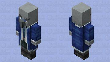 Waterologer(Water Element)(Re Texturing) Minecraft Mob Skin