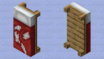 Destroyed bed (Java) Minecraft Mob Skin