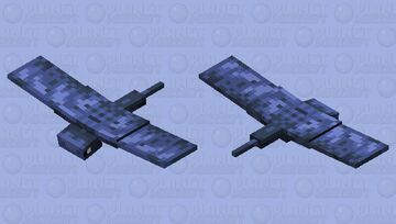The Monster Of The Night Sky (Original Mob Design) Minecraft Mob Skin