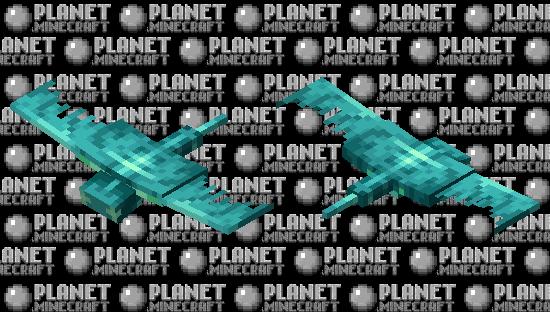 Glow phantom (Glow mobs contest) Minecraft Skin
