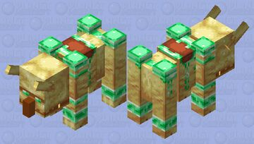 Ravager of Undying Minecraft Mob Skin