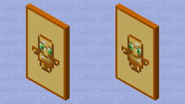Totem of Undying Cape Minecraft Mob Skin