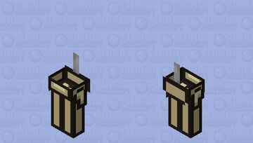 Among us banana / zombie / low resolution / remade Minecraft Mob Skin