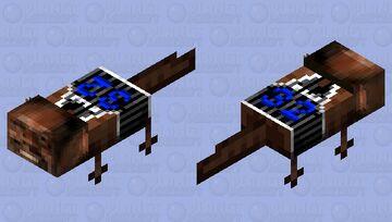 Shaqxolotl Minecraft Mob Skin