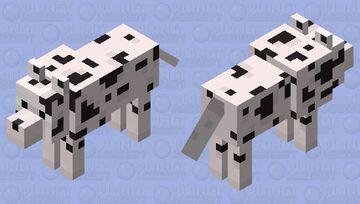 Dalmatian Minecraft Mob Skin