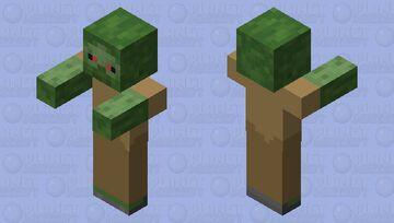 Raged Zombie Minecraft Mob Skin