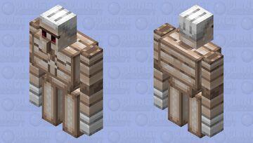 Six-Pack Improved Iron Golem Minecraft Mob Skin