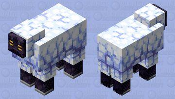 Fluffy sheep! || Ewe Minecraft Mob Skin