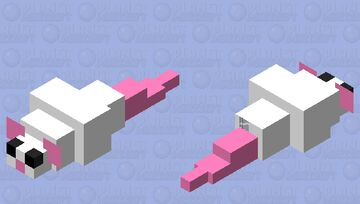 Silver fish and mouse prototype Minecraft Mob Skin