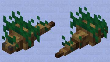 Forest Silverfish Minecraft Mob Skin