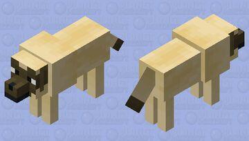 Old english mastiff Minecraft Mob Skin