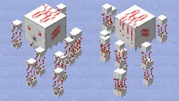Better Baby Ghast (Shooting) (ver.2) Minecraft Mob Skin