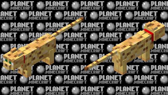 tamed ocelot Minecraft Skin