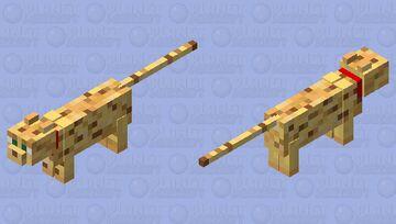 tamed ocelot Minecraft Mob Skin