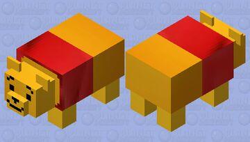 Winnie-the-Pooh (Panda) Minecraft Mob Skin