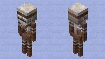 Skeleton Rusher (Remade) Minecraft Mob Skin