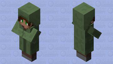 Attractive Villager Mob Skin! Minecraft Mob Skin