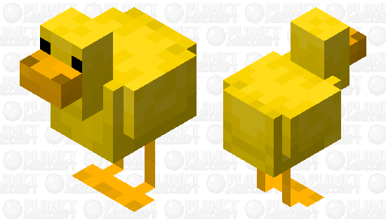 Rubber duck Minecraft Skin