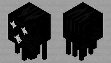 Shooting Star Ghast Minecraft Mob Skin