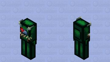 Among us Green (Imposter) (Retexture) Minecraft Mob Skin