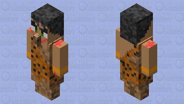 Prehistoric Johnny Hunter Minecraft Mob Skin