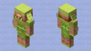 bedrok emerld piglan Minecraft Mob Skin
