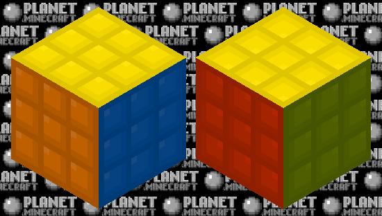 HD Rubix Cube Minecraft Skin