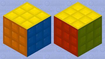 HD Rubix Cube Minecraft Mob Skin