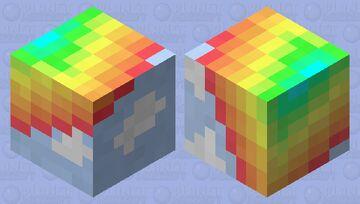 Simply rainbow Minecraft Mob Skin