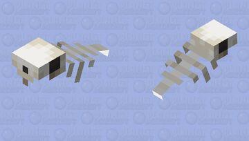 Rabbit - Skeletal Phantom Minecraft Mob Skin