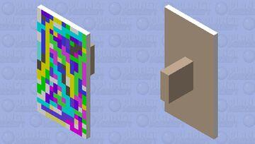 A Tela de Arte Minecraft Mob Skin