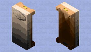WWII Bed (White) V.2 Minecraft Mob Skin