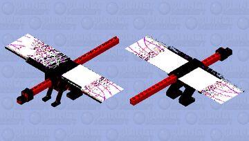 telecanises bloody dinosaur ender dragon Minecraft Mob Skin