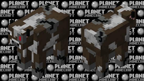 Cyborg Cow Minecraft Skin