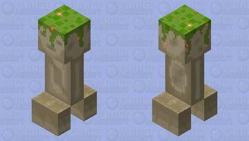 Creeper Sentinel Minecraft Mob Skin